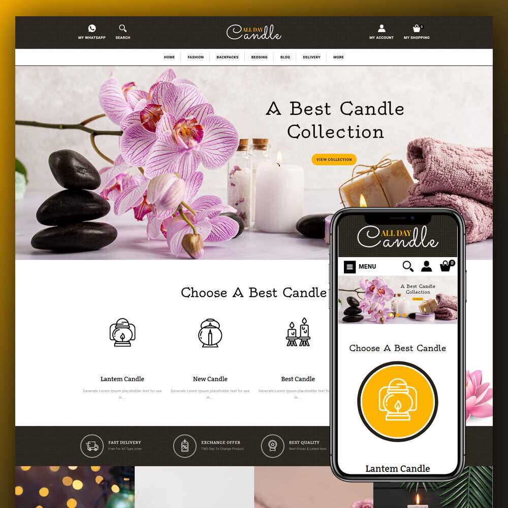 candle-store-opencart-template