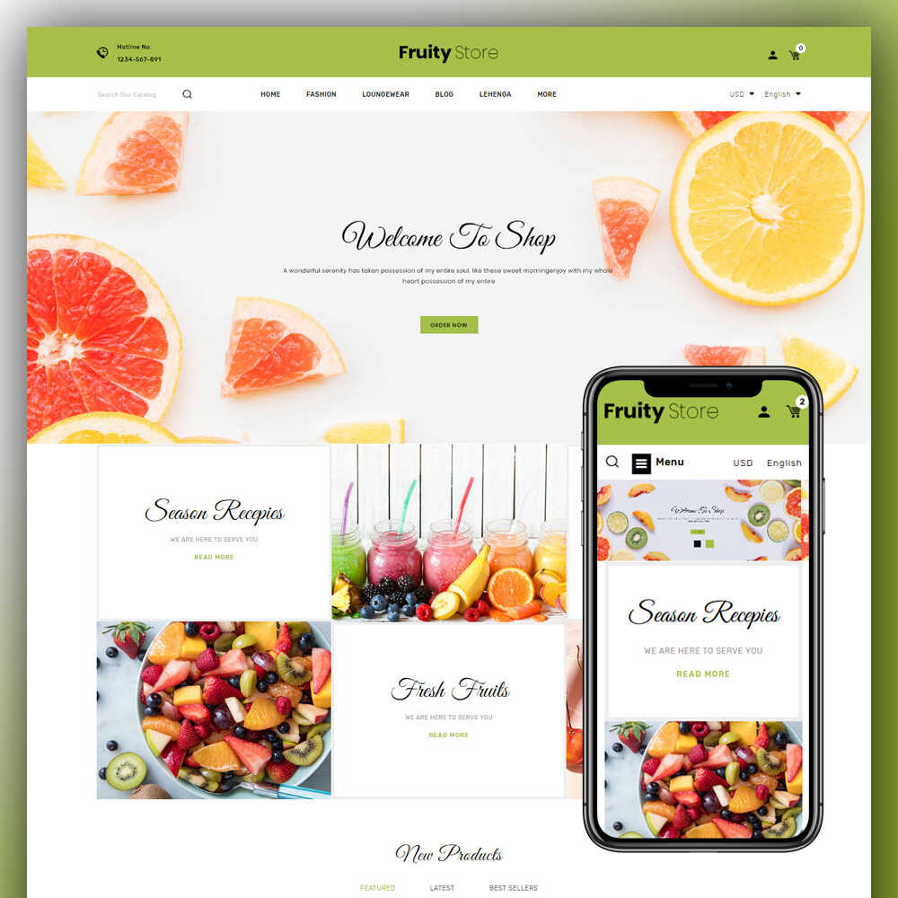 Fruity – Fruit Store