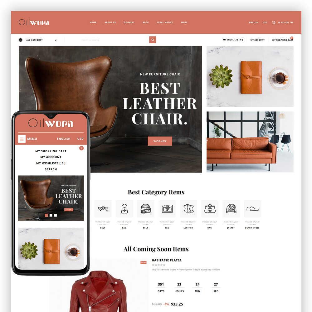 Oilworn – Leather Store